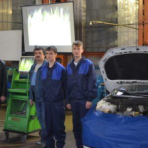 Мастер-класс на тему «Проведение диагностики системы управления двигателя на автомобиле ВАЗ -2190 LADA Granta» (модуль)