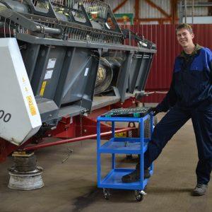 Мастер-класс на тему «Подготовка к работе жатки зерноуборочного комбайна «Акрос – 530» (модуль)